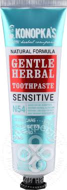 Купить <b>Зубная паста Dr</b>. Konopkas №54 Sensitive Gentle Herbal ...