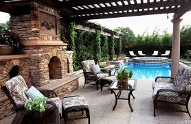 Decor Patios With Fireplaces With Designs For A Covered Patio