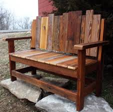18 beautiful handcrafted outdoor bench