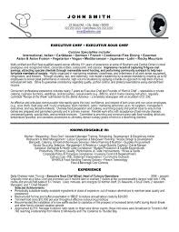 Sous Chef Resume Template Enchanting Resume Sample For Chef Resume Samples For Chefs Resume Templates For