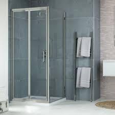 760 x 760mm bi fold shower enclosure