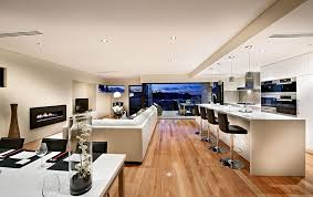 Contemporary Open Plan Kitchen Living Room  AecagraorgContemporary Open Plan Kitchen Living Room