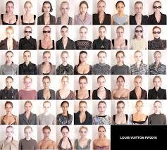 supermodels without makeup louis vuitton cast shots revealed photo