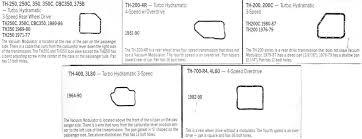 Chevrolet Transmission Identification Chart Automatic Transmission Identification Drivin It Home