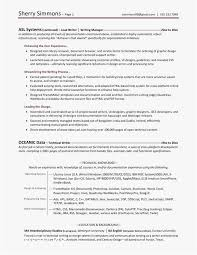 Team Leader Resume Template The Proper Resume Template Examples