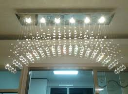 crystal chandelier table lamp shades antique lamps drop led modern simple lighting bar arched wonderful le