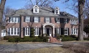 Two elegant red brick Georgian-style homes that rose to popularity in the  movies: this home in Atlanta was the setting for Driving Miss Daisy.