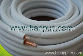 air conditioning pipe insulation. insulated copper tubes for air conditioner (pre-insulated coil pair pip conditioning pipe insulation