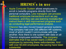 human resource information management system new 21