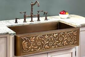 hammered copper farmhouse sink. 32 Farm Sink Hammered Copper Farmhouse Inch Bathroom Vanity Galley Kitchen Lighting E