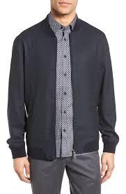 men s lightweight jackets denim windbreaker more nordstrom ted baker london cabbo bomber jacket
