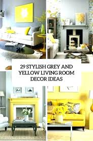 gray and yellow living room ideas decorating