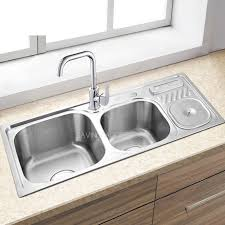 brushed nickel sink. Fine Brushed Double Sinks Brushed Nickel Stainless Steel Kitchen And Faucets In Sink
