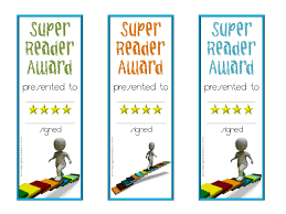 reading awards and certificate templates customizable reading awards for kids