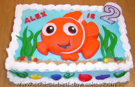Coolest Finding Nemo Cakes