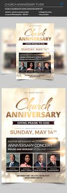 church invitation flyers church anniversary flyer by madridnyc graphicriver