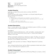 Security Guard Report Template Security Guard Report Example