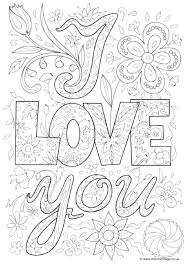 Love Coloring Pages For Adults Colouring Pages Colouring Sheets And