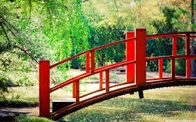 Japanese Style Garden Bridges Japanese Garden Bridge Hd Desktop Wallpaper High Definition