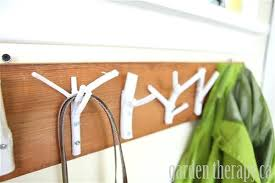 Homemade Coat Rack Tree Diy Coat Hanger How To Make A Coat Rack Tree For Life Coat Rack Diy 71