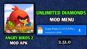 Latest🔥Angry Birds 2 Hack MOD V2.51.0 Apk | Angry Birds 2 MOD APK  Unlimited Gems & Black Pearl