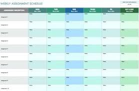Weekly Meeting Calendar Template Weekly Schedule Spreadsheet Weekly Schedule Free Free Weekly