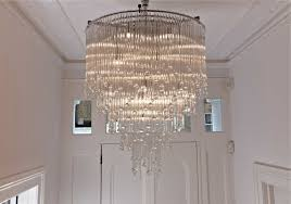modern crystal chandelier interesting 40 modern bathroom chandeliers uk design