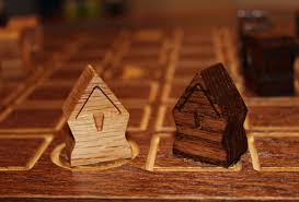 Wooden Strategy Games A fatherson project produced with 100% wooden components Analog 13