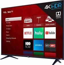 55-Inch TCL 4K HDR TV With Roku A Heck Of Deal At Best Buy For $399