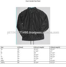 Oxford Jacket Size Chart Screen Printing Navy Color Oxford Coach Jacket 100 Quality Oxford Fabric Coach Jacket Design Your Own Oxford Coach Jacket Buy Custom Coach