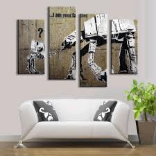 Painting Canvas For Living Room Online Get Cheap Father Pictures Aliexpresscom Alibaba Group