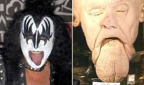 gene simmons son tongue. gene simmons son tongue