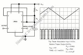 block diagram of pulse width modulation and demodulation block pulse position modulator using 555 ic simple circuit diagram on block diagram of pulse width modulation