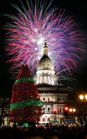 Christmas approaches. Lansing MichiganMichigan UsaBeautiful Christmas TreesBig  PictureHoliday LightsChristmas ...