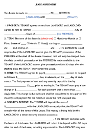 Commercial lease agreements are much more complicated than the residential leases as the terms and conditions are negotiable and flexible. Free One 1 Page Lease Agreement Templates By State