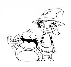 Small Picture Halloween candies coloring pages Hellokidscom