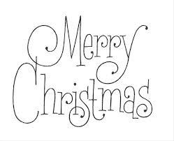 Free Christmas Stencils Tree Angel Template Free Christmas Stencils