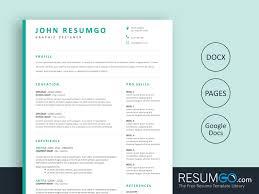 resume templ bakchos professional resume template resumgo com