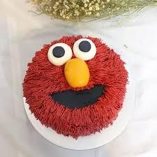 Elmo Cake Food Drinks Baked Goods On Carousell