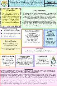 schools newsletter ideas school newsletters 15 and 16 parwich org