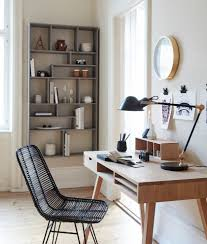 designing a home office. Flat Scandinavian Home Office Design Designing A