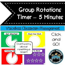 Timer 1 Mins Daily Centers Classroom Management Timer 5 Minutes 1 Minute Transition