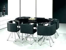 round black glass dining table and chairs halo ebony round dining round black glass dining table