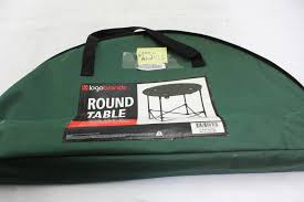logo brands portable round table