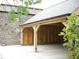oak car port