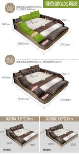 real genuine <b>leather</b> bed with massage /double beds frame <b>king</b> ...