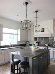 lantern kitchen island lighting. Two Recessed Lights Slightly Off Center Kitchen Island Lighting Lantern Elegant Lamps Metal Pendant Hanging Lamp Set With Bulb Light E