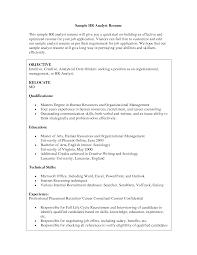 Cover Letter Hr Resume Format Hr Resume Format For Hr Manager Hr