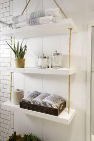 Decorative Bathroom Shelving 25 Best Ideas About Bathroom Shelf Decor On Pinterest Half Bath
