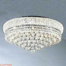 chandelier for low ceiling crystal light round lamp lighting master bedroom low ceiling flower small red light crystal chandelier